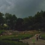 """Is it never raining in New York? oder """"Die filmreife Wolkenbruch-Lektion!"""""""