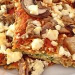 Zucchinipizza ohne Mehl