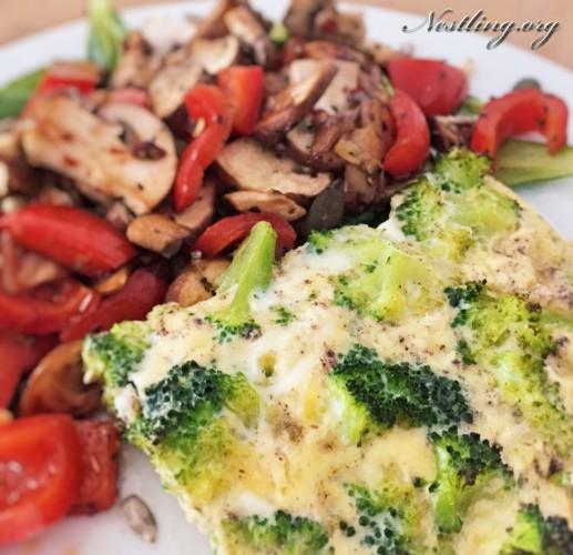 quiche-salat
