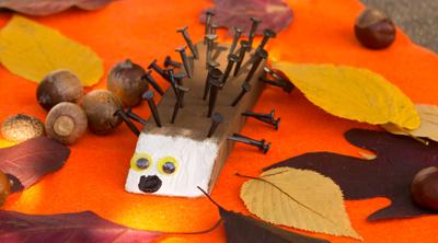 Basteln-Herbst-Kinder