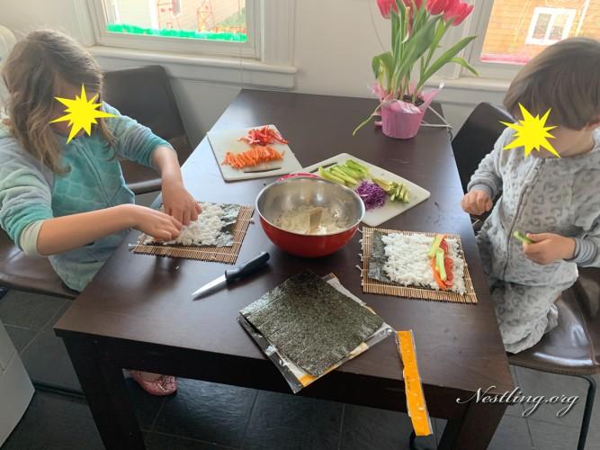 Sushi-Kinder