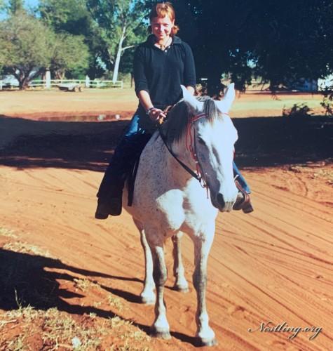 Australien-Cowgirl